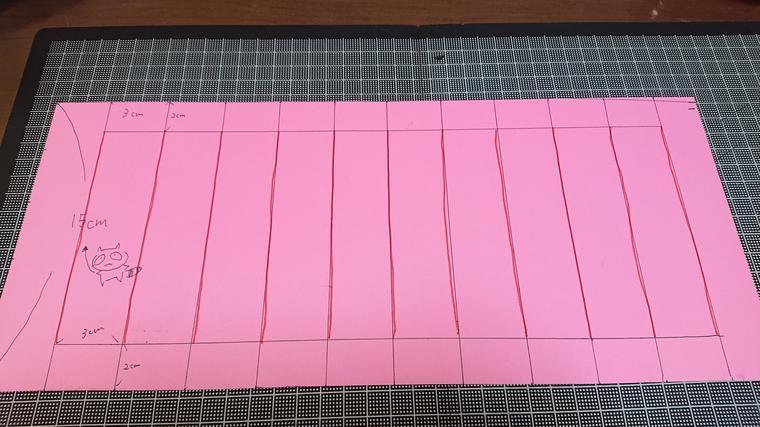 編む画用紙