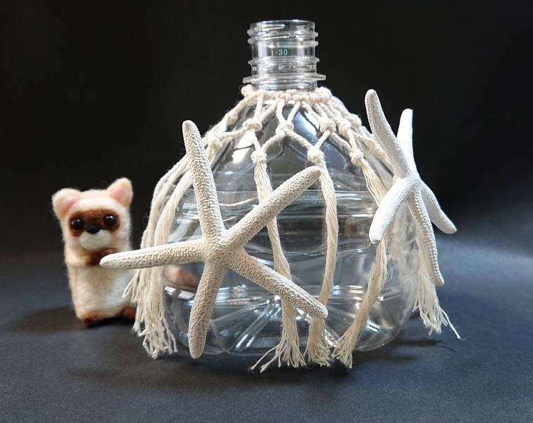 ペットボトル花瓶・ひとで