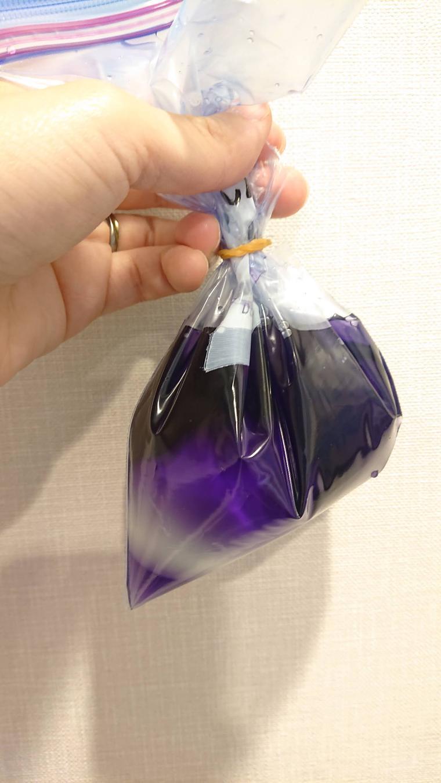 梅干しなしの紫キャベツ液