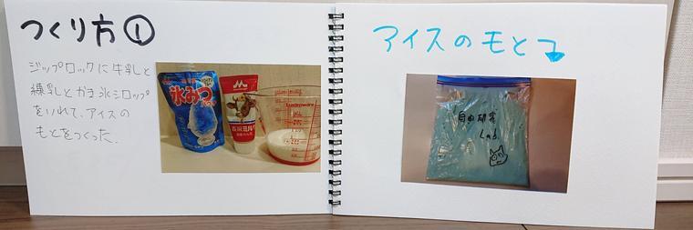 実験1作り方スケッチブック